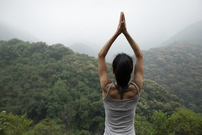 Yoga en naturaleza